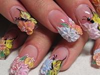Большой выбор гелей для ногтей